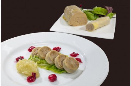 Boudin blanc au foie gras 20%